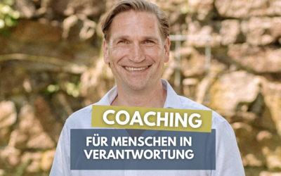 Coaching für Menschen in Verantwortung
